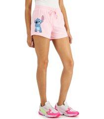 disney juniors' stitch drawstring shorts