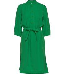 flex dress knälång klänning grön hope