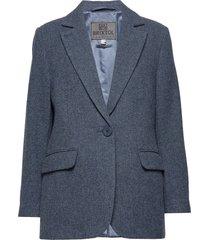 ollie blazer kavaj blå brixtol textiles