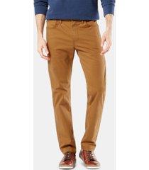 dockers men's jean-cut supreme flex slim fit pants, created for macy's