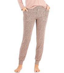 alfani ultra-soft knit jogger pajama pants, created for macy's