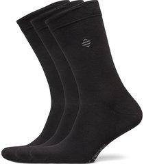 pe 3pk daniel bamboo crew underwear socks regular socks svart panos emporio
