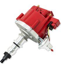 ford f-150 f-250 e-100 e150 300 inline six straight 6 hei distributor red cap!