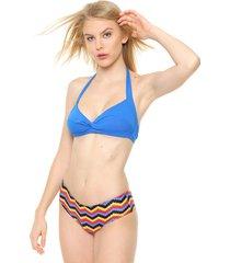bikini azul lecol bianca