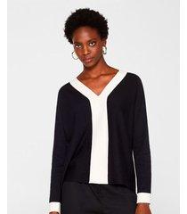 suéter con franjas