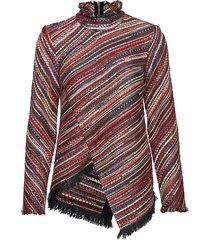 ingva blouse lange mouwen multi/patroon rodebjer