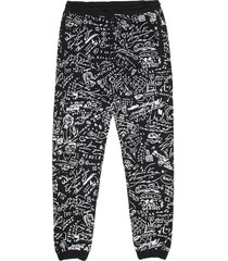 marcelo burlon allover sketches sweatpants