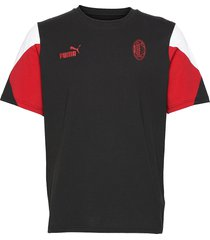 acm ftblculture tee t-shirts short-sleeved svart puma