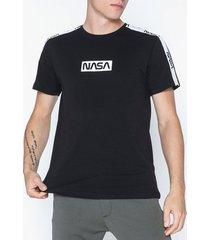 only & sons onsnasa license ss reg tee t-shirts & linnen svart