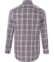 overhemd van 100% katoen van bugatti paars