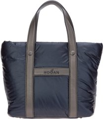 borsa donna a mano shopping in nylon