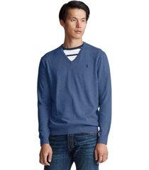 polo ralph lauren men's cotton v-neck sweater