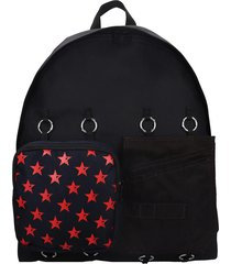 eastpak by raf simons rs padded doubl backpack in black tech/synthetic