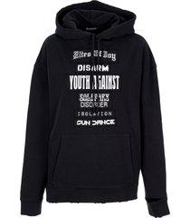 raf simons rites of joy hoodie