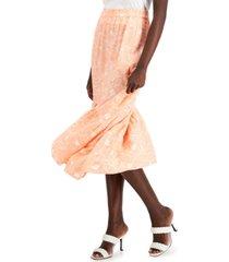 inc petite high-low ruffled skirt, created for macy's