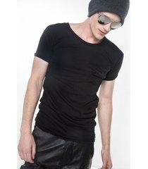 t-shirt męski forever ruffled czarny