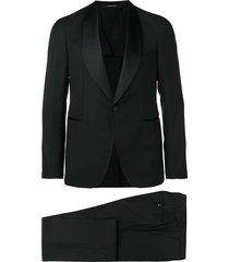 tagliatore two-piece evening suit - black