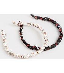 perris floral skinny headband - multi