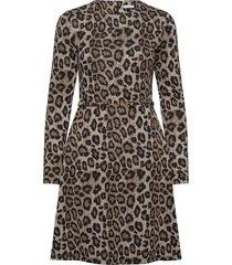 cathy dress knälång klänning brun ida sjöstedt