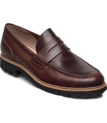 batcombe edge loafers låga skor brun clarks