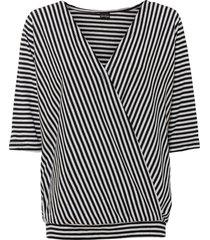 maglia a righe (nero) - bodyflirt