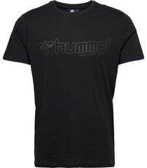 hmlmarcel t-shirt s/s t-shirts short-sleeved svart hummel