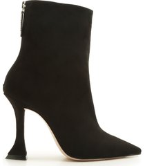 loiva bootie - 8 black suede