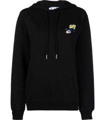 off-white check arrows reg hoodie