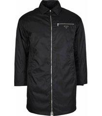 zip long jacket