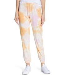 women's spiritual gangster perfect tie dye sweatpants