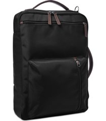 fossil men's black buckner backpack