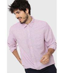 camisa violeta gap