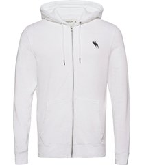 exploded icon sweatshirt hoodie trui wit abercrombie & fitch