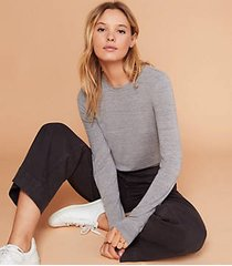 lou & grey softened jersey layering tee