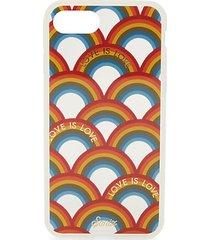 love is love rainbow-print iphone 7 case