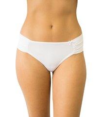 calcinha fio duplo soberano qtal lingerie básico branco