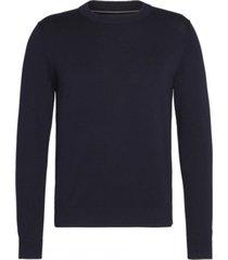 sweater institutional azul marino calvin klein