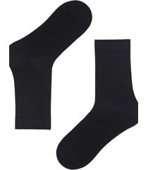 calzedonia short wool and cotton socks man blue size 44-45