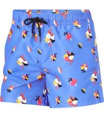 badshorts hibiscus swim shorts
