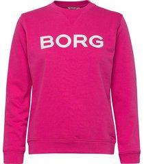 crew faye faye crew sweat-shirt tröja rosa björn borg