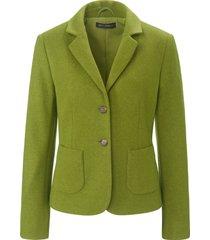 blazer met reverskraag en knoopsluiting van betty barclay groen
