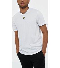 lyle & scott football jersey t-shirt t-shirts & linnen white