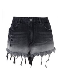 shorts john john boy bairik (jeans black medio, 50)