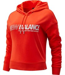 buzo hoodie cerrado para mujer buzo new balance
