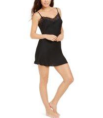 josie bardot satin lace trim chemise nightgown