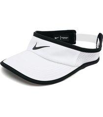 gorra blanco-negro nike aerobill