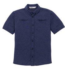 camisa manga corta azul  offcorss