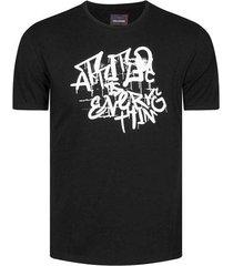 camiseta con estampado manga corta para hombre freedom 00795