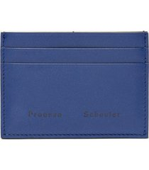 proenza schouler origami card holder blueprint one size