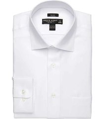 pronto uomo white queens men's oxford dress shirt - size: 22 36/37 - only available at men's wearhouse